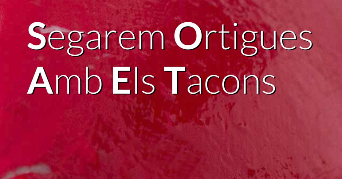 Imagen galeria SEGAREM ORTIGUES AMB ELS TACONS