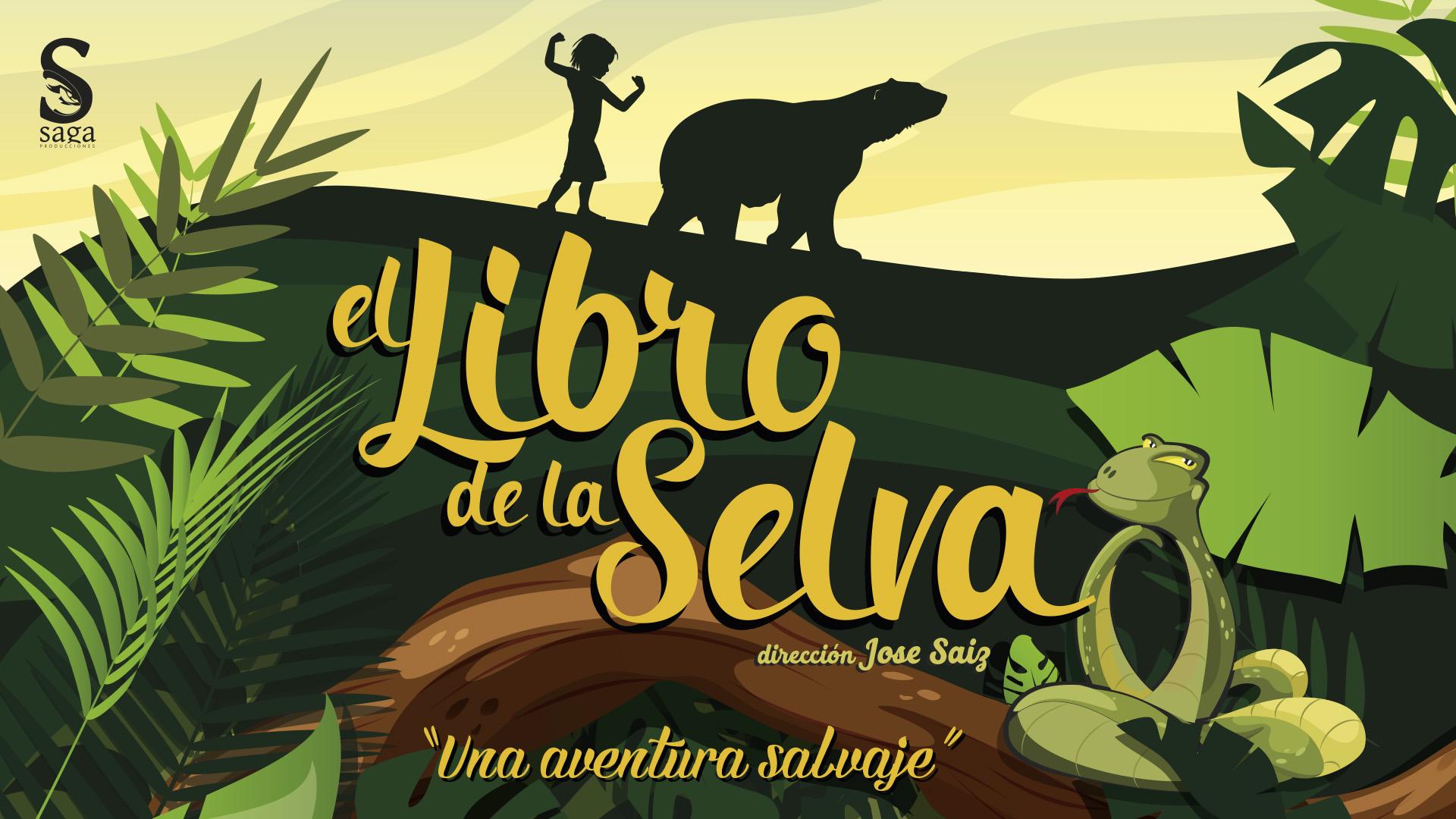 Imagen galeria EL LIBRO DE LA SELVA