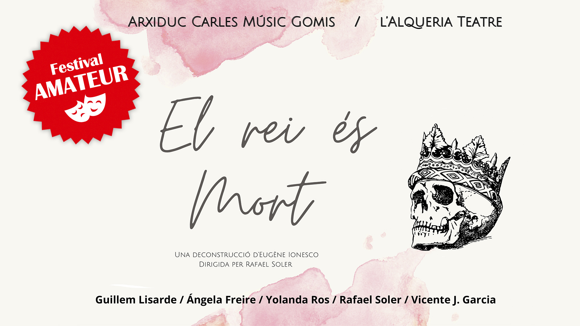 Imagen galeria EL REI ÉS MORT (FESTIVAL AMATEUR)