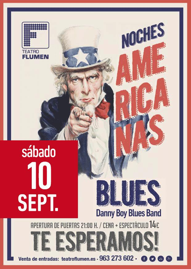 NOCHE AMERICANA DEL BLUES