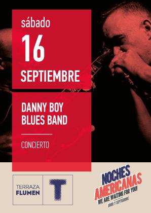 NOCHE AMERICANA DEL BLUES CON DANNY BOY BLUES BAND