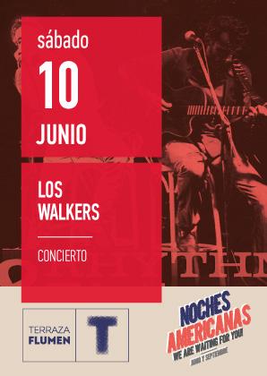 NOCHE AMERICANA DEL ROCK CON LOS WALKERS